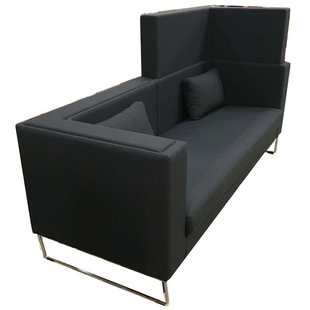 chill out height adjustable couch with noise filter. Black Bedroom Furniture Sets. Home Design Ideas