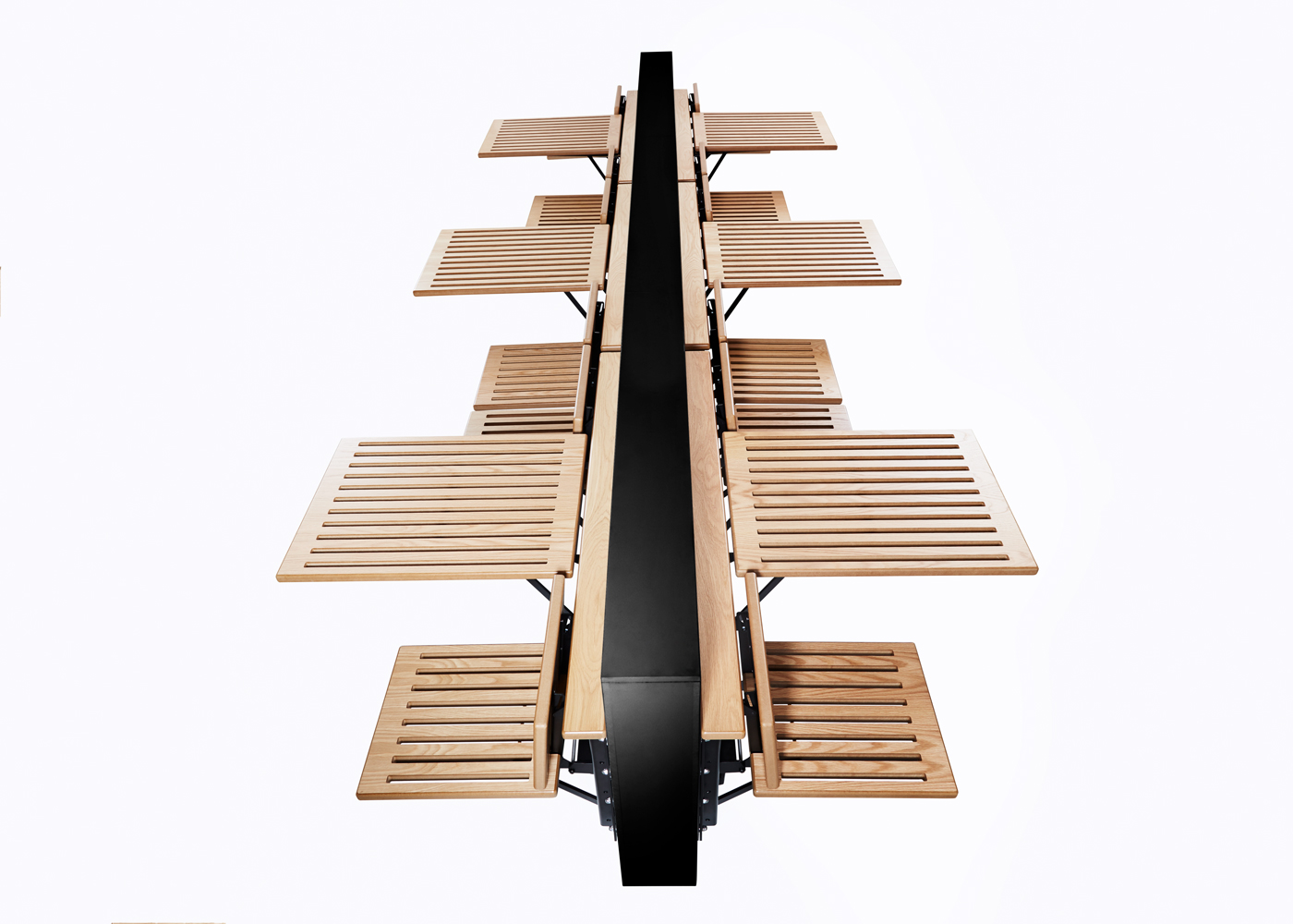 Innovation Within Benches Automated Space Saving