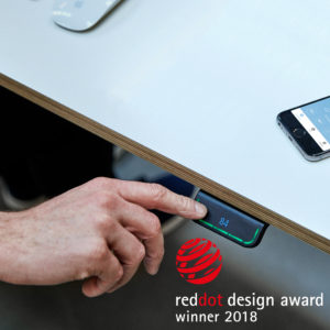 Desk Panel DPG wins Red Dot Design Award 2018